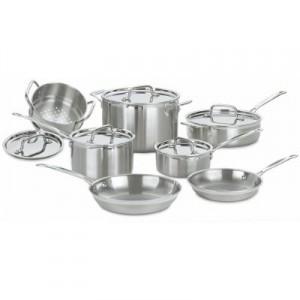 Cuisinart MultiClad Pro Cookware Set Review