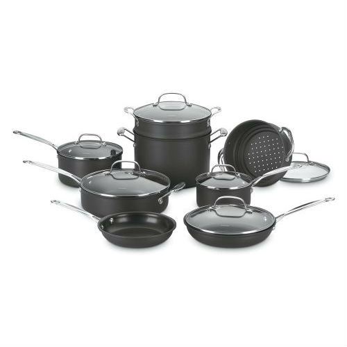 Cuisinart 66-14 Chef's Classic Nonstick Hard-Anodized 14-Piece Cookware Set Review
