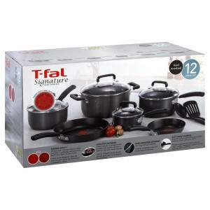 T-Fal Signature Hard Anodized Cookware Package