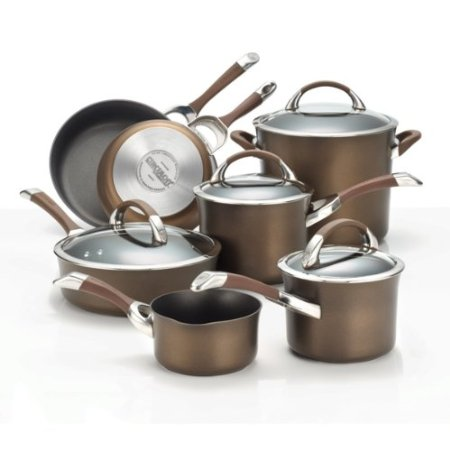 Circulon Symmetry Chocolate Cookware Set